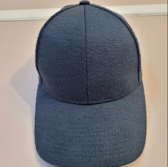 Teal Blue Aritzia Baseball Cap